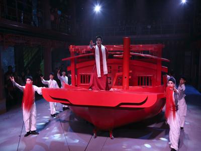 平日珠江红船船说