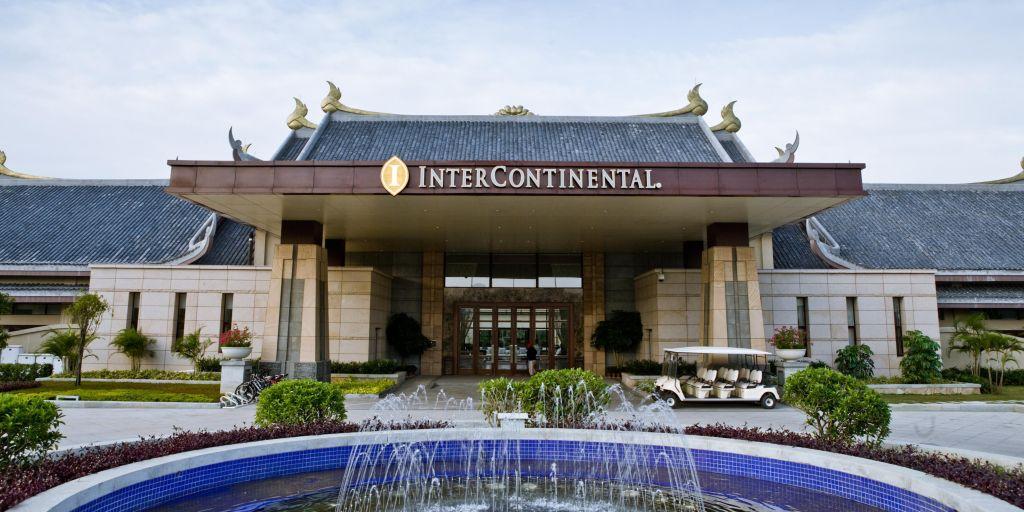 惠州洲际温泉度假酒店、惠州西湖、丰储园二天