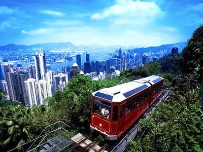 香港太平山缆车+摩天台