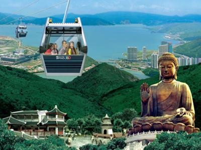 香港昂坪360来回缆车