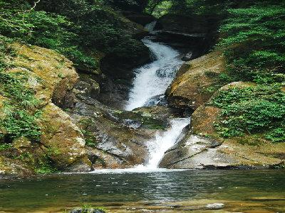 壁纸 风景 旅游 瀑布 山水 桌面 400_300